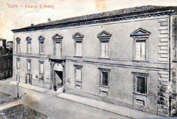 """Palazzo d'Avalos, dove abitarono i """"padroni eccellentissimi della terra"""""""