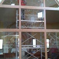 La vetrata (i lavori)3