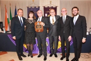 "l Lions Club Vasto Host celebra la sua 56a ""Charter Night"""
