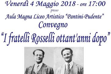 """Il Convegno """"Giustizia e Libertà per un nuovo umanesimo: i fratelli Rosselli ottant'anni dopo"""""""