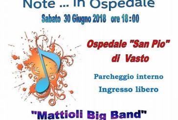 """""""Note …. in Ospedale"""", un concerto nel parcheggio del San Pio"""