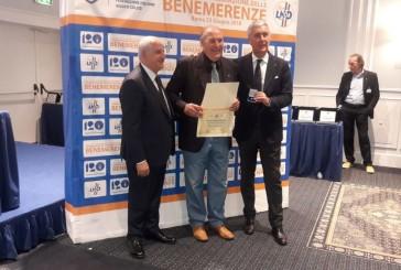 Franco Nardecchia tra gli insigniti delle Benemerenze della Lega Nazionale Dilettanti e del Settore Giovanile e Scolastico