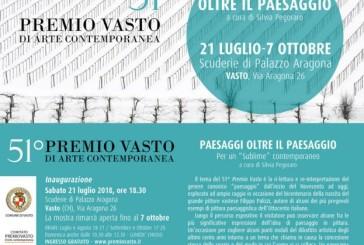 """Sabato l'inaugurazione del """"51° Premio Vasto d'Arte Contemporanea"""""""