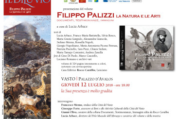 """Oggi la presentazione del libro """"Filippo Palizzi, la Natura e le Arti. Documenti, testimonianze, immagini"""""""