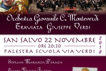 La Traviata di Verdi a San Salvo nel giorno di Santa Cecilia