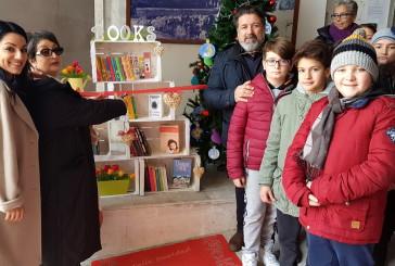 """""""Io leggo in villa"""", inaugurata la libreria solidale"""
