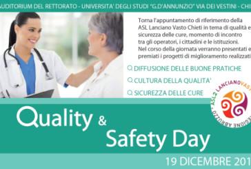 Più sicurezza per i pazienti, la Asl di Chieti presenta le migliori iniziative