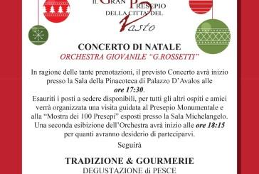 """Vasto, stasera il concerto dell'Orchestra Giovanile """"Rossetti"""""""