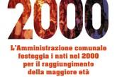 """San Salvo e il """"Benvenuto 18"""" per i nati nel 2000"""