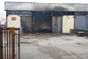Incendio alla zona industriale: incontro tra la Cgil, l'Arta e il sindaco Magnacca