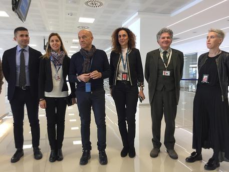 Pescara - conferenza stampa aeroporto