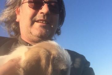 Gettato nel burrone, cucciolo salvato