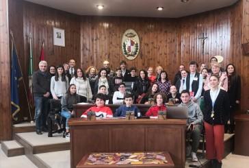 A Palazzo di Città una delegazione dell'Erasmus Plus