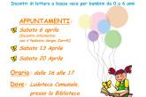 """""""Nati per leggere"""", ad aprile i laboratori di lettura a bassa voce per i bambini"""