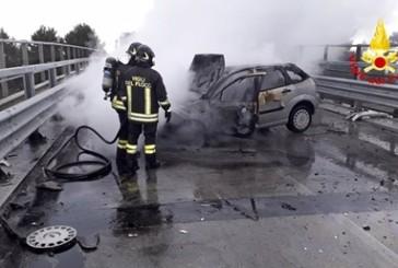 Petacciato, auto finisce contro un muro, ferito il conducente