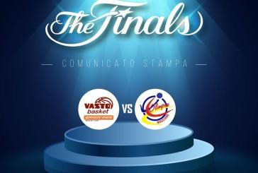 La Vasto Basket in finale con l'Olimpia Mosciano