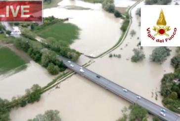L'Italia funestata dal maltempo, piogge intense ed abbondanti su tutto il versante Adriatico