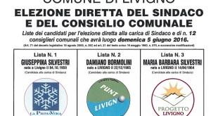 livigno Manifesto-ListedeiCandidati elezioni 2016 intro