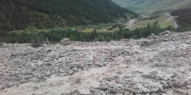 Esondazione di due rin in Val Federia