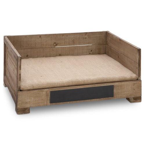 Ideas creativas de camas para perros hechas con palets i - Camas para perros de madera ...