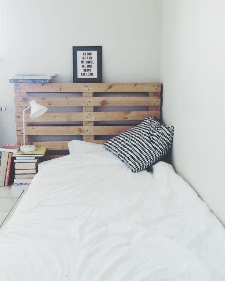 Propuestas de cabeceros de cama hechos con palets i love - Cabeceros hechos con palets ...