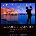 locandina golf boccadasse