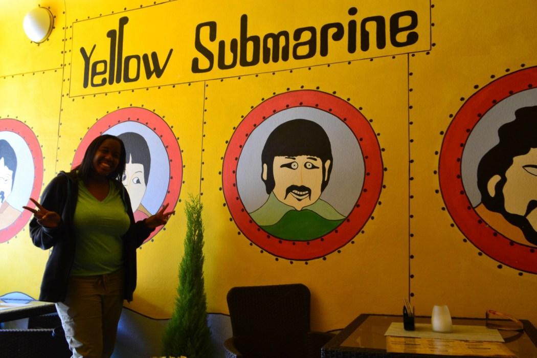 The Yellow Submarine!
