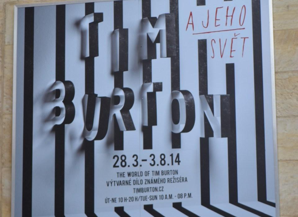 The Tim Burton Exhibit!