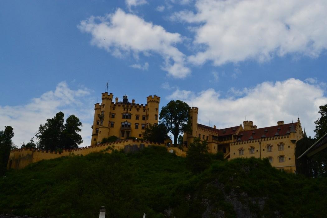 Hohenschwangau Castle.