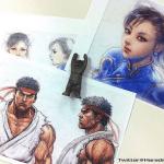 Tekken X Street Fighter arriva da Twitter il primo artwork ufficiale