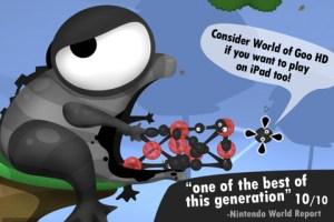 I giochi in offerta su AppStore del 16 novembre 2011, World of Goo ancora in saldo