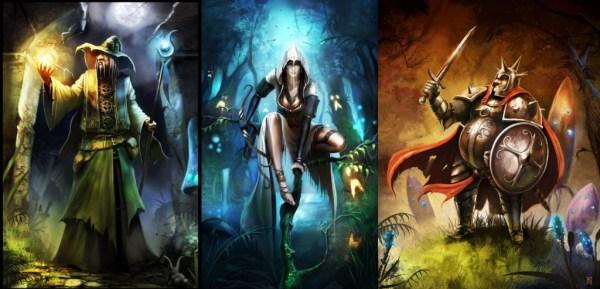 Trine2-Characters