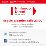 Stasera alle 23 il primo Nintendo Direct del 2014