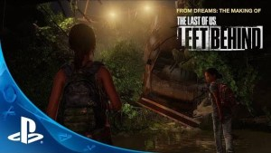 The Last of Us, video del Making of di Left Behind