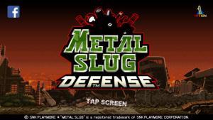 Metal Slug Defense approda su AppStore e GooglePlay
