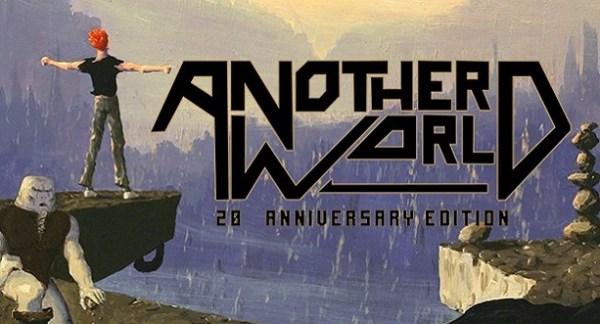 Another World 20th anniversary edition console