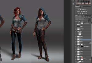 Witcher-3-Triss-concept-art