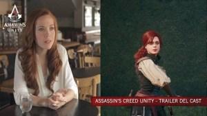 Assassin's Creed Unity, trailer con gli attori del cast