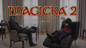 Magicka 2, nuovo divertente trailer: Una intervista senza il vampiro