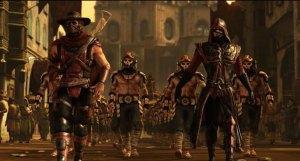 Mortal Kombat X, un video per Erron Black