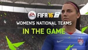 Fifa 16, primo trailer, ci sono le Nazionali femminili