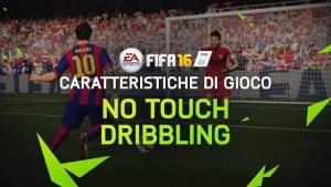 Fifa 16, video-diario No Touch Dribling con Leo Messi
