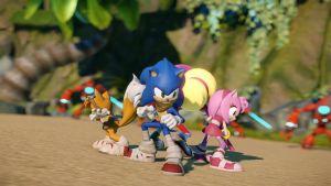 Sonic sfreccia su Nintendo 3DS in Sonic Boom: Fire & Ice