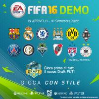 Fifa 16, dettagli e date della demo
