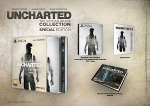 Uncharted: The Nathan Drake Collection, annunciata edizione speciale