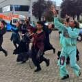 Halloween flashmob FNV 2014