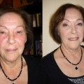 Make-up rijpere huid Roos