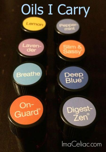 Essential Oils I Carry