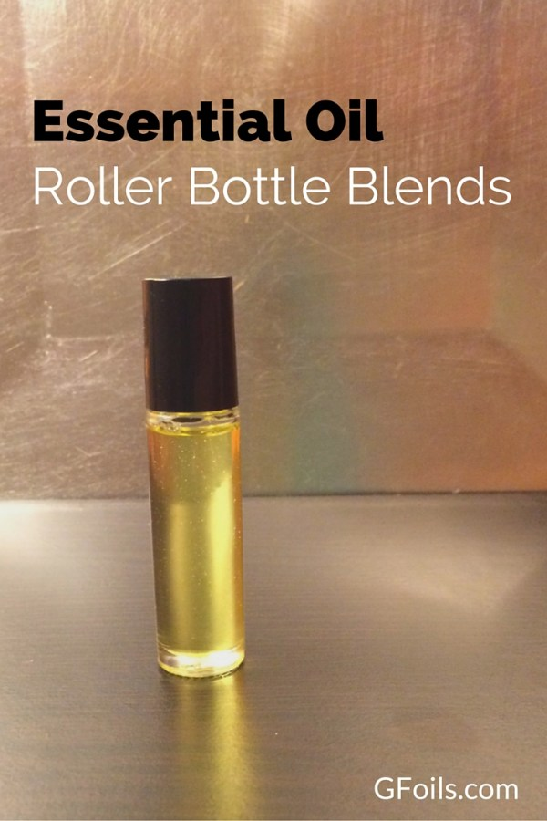 Want to make your own Essential Oil Roller Bottles? Here are some easy recipes and a step by step guide