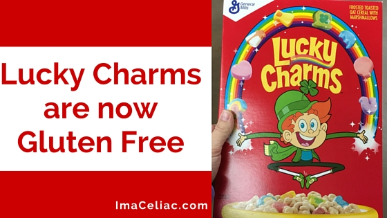 Gluten Free Lucky Charms are HERE